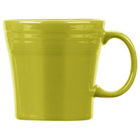 Homer Laughlin 1475332 Fiesta Lemongrass 15 oz. Tapered Mug   - 12/Case