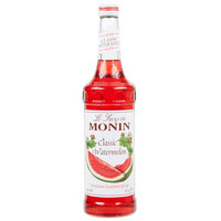 Monin 750 mL Premium Classic Watermelon Flavoring Syrup