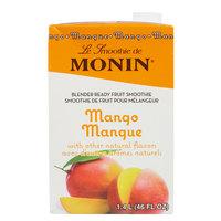 Monin 46 oz. Mango Fruit Smoothie Mix