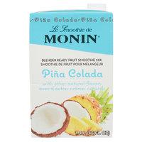 Monin 46 oz. Pina Colada Fruit Smoothie Mix