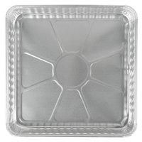 D&W Fine Pack 15800 9 inch Aluminum Foil Square Pan   - 500/Case