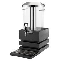Vollrath V904800 6.34 Qt. Cubic Beverage Dispenser Assembly with Ice Chamber