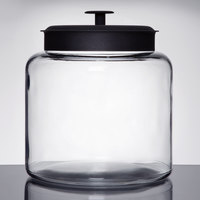 Anchor Hocking 88904 1 1/2 Gallon Glass Montana Jar with Metal Lid