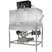 Noble Warewashing II Double Rack Low Temperature Corner Dishwasher - Right Side, 115V