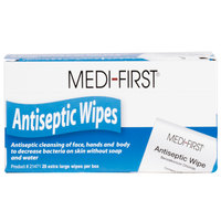 Extra Large Medi-First Antiseptic Wipes - 20/Box
