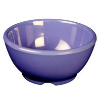 Purple 10 oz. Melamine Soup Bowl, 4 5/8 inch - 12/Case