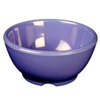Thunder Group CR5804BU Purple 10 oz. Melamine Soup Bowl, 4 5/8 inch - 12/Case