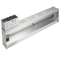 Vollrath 72723017 Cayenne 60 inch Strip Warmer with Remote Infinite Control - 1380W