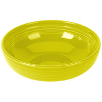 Homer Laughlin 1472332 Fiesta Lemongrass 96 oz. Extra Large Bistro Bowl - 4/Case