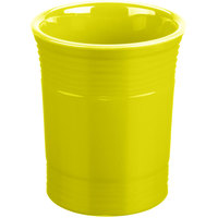 Homer Laughlin 447332 Fiesta Lemongrass 6 5/8 inch Utensil Crock - 4/Case