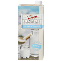 Torani 32 oz. Signature Real Cream Frappe Base