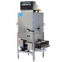 CMA Dishmachines CMA-180C Single Rack High Temperature Corner Dishwasher with Booster Heater - 208/240V, 1 Phase