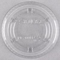 Dart Solo PL200N Medium Clear Plastic Souffle / Cup Lid   - 125/Pack
