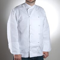 Chef Revival J006-XL Chef-Tex Size 48 (XL) Customizable Poly-Cotton Corporate Chef Jacket