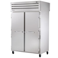 True STA2RPT-2S-2S-HC Specification Series 52 5/8 inch Solid Front and Back Pass-Through Refrigerator
