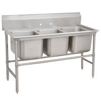 Advance Tabco 94-63-54 Spec Line Three Compartment Pot Sink - 68 inch