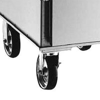 Alto-Shaam 14227 3 inch Rigid and Swivel Casters for 500-E/Deluxe Catering Warmer, and 750-CTUS Holding Cabinets - 4 / Set