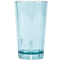 Cambro HT10CW196 Azure Blue Camwear Huntington 10 oz. Customizable Plastic Tumbler - 36 / Case