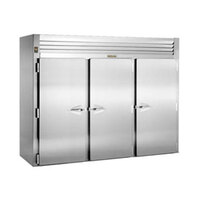 Traulsen RRI332LUT-FHS Stainless Steel 117.5 Cu. Ft. Three Section Roll In Refrigerator for 66 inch Pan Racks - Specification Line