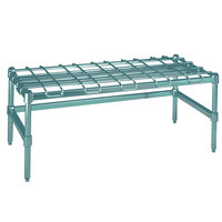 Metro HDP55K3 24 inch x 48 inch x 16 1/4 inch Super Heavy Duty Metroseal 3 Dunnage Rack with Wire Mat - 3000 lb. Capacity