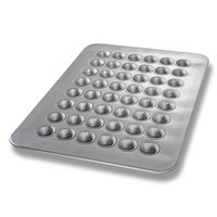 Chicago Metallic 45295 48 Cup 1.1 oz. Glazed Mini Muffin Pan