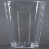 Fineline Quenchers 402-CL 2 oz. Plastic Shot Cup 50 / Pack