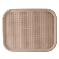 Green Wave TW-TOO-041 9 inch x 12 inch Biodegradable Tray   - 250/Case