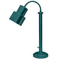Hanson Heat Lamps SLM/200/ST TXT VRDGRS Textured Verdigris Flexible Single Bulb Freestanding Heat Lamp