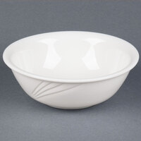 CAC GAD-80 Garden State 25 oz. Bone White Porcelain Bowl - 24/Case
