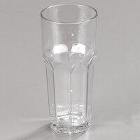 Carlisle 581407 Louis 14 oz. Clear Plastic Tumbler - 24 / Case