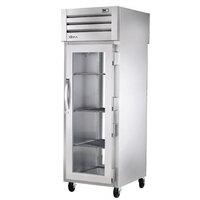 True STG1RPT-1G-1G-HC Specification Series 27 1/2 inch Glass Door Pass-Through Refrigerator