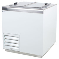 Excellence HFF-4 Stainless Steel Ice Cream Dipping Cabinet Freezer - 7.9 Cu. Ft