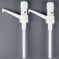 San Jamar P7500 1 oz. Thick Condiment Dispenser Ultra Pump - 2/Pack