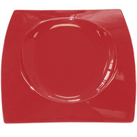 CAC FSB-21 RED Fashion Bridge Plate 12 inch x 12 1/2 inch - Red - 4/Case