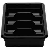 Cambro 1120CBR110 Black Plastic Regal Cutlery Box 11 inch x 20 inch