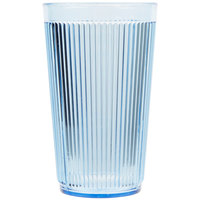 Carlisle 401254 Blue Crystalon Stack-All SAN Tumbler 12 oz. - 12/Case