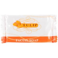 Tulip .4 oz. Hotel and Motel Wrapped Facial Soap Bar - 1000/Case