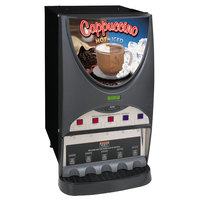 Bunn iMIX-5S+ Silver Series Plus Hot and Iced Beverage Dispenser with Side Hinge Door - Black (Bunn 40900.0000)