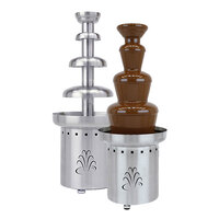 Buffet Enhancements 1BACF27 27 inch Stainless Steel 3 Tier Commercial Chocolate Fountain