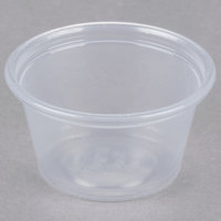 Dart Solo Conex Complements 075PC 0.75 oz. Translucent Plastic Souffle / Portion Cup - 2500/Case