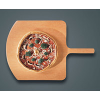 American Metalcraft MP1826 18 inch Square Pressed Pizza Peel with 8 inch Handle - Make-Up Pizza Peel