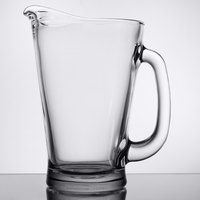Anchor Hocking 1155UR 1.7 Qt. Glass Beer Wagon Pitcher - 6/Case