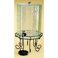 Cal Mil 932-3 Beverage Dispenser 3 Gallon Faux Glass Octagon