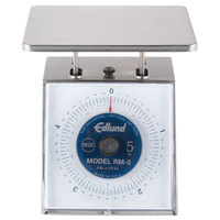 Edlund RM-5 Four Star 5 lb. Portion Scale with 7 inch x 8 3/4 inch Platform