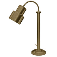 Hanson Heat Lamps SLM/200/ST TXT BRSS Textured Brass Flexible Single Bulb Freestanding Heat Lamp