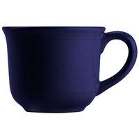Tuxton CCF-0702 Concentrix 8 oz. Cobalt Round China Mug - 24 / Case
