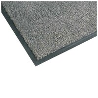 Teknor Apex NoTrax T37 Atlantic Olefin 434-324 3' x 5' Carpet Entrance Floor Mat - Gray