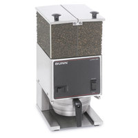 Bunn LPGE Low Profile 6 lb. Double Hopper Grinder - 120V (Bunn 26800.0000)