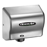 American Dryer GXT9-C ExtremeAir Automatic Hand Dryer with Chrome Cover - 100-240V, 1500W