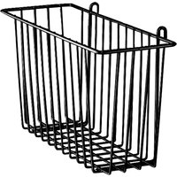 Metro H209B Black Storage Basket for Wire Shelving 13 3/8 inch x 5 inch x 7 inch